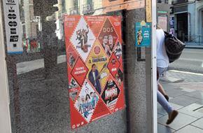 pegada de carteles en madrid