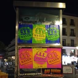 carteles tiendas mango madrid